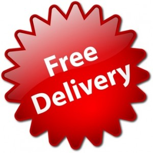 """""""Free Delivery"""" button"""