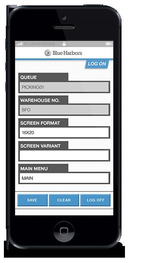SAP RF Mobile Solution - Blue Harbors