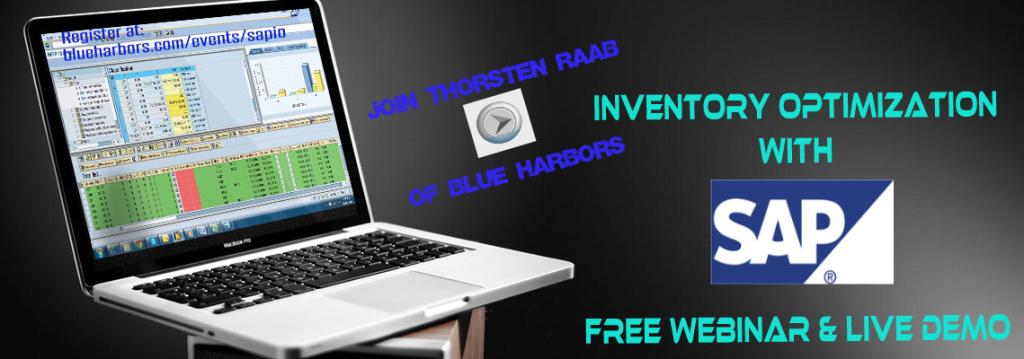 SAP Inventory Optimization Webinar & Live Demo - BlueHarbors.com